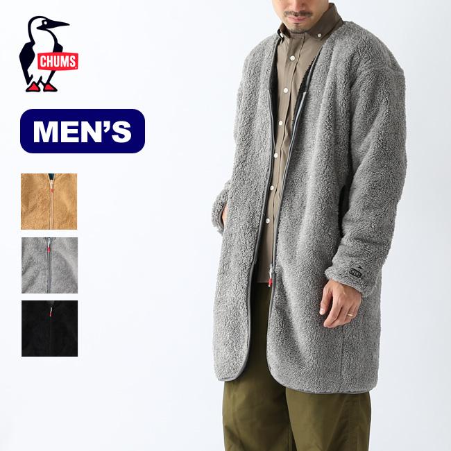 チャムス ボンディングフリースコート メンズCHUMS Bonding Fleece Coat メンズ CH04-1184トップス アウター フリース ジャケット コート アウトドア <2019 秋冬>