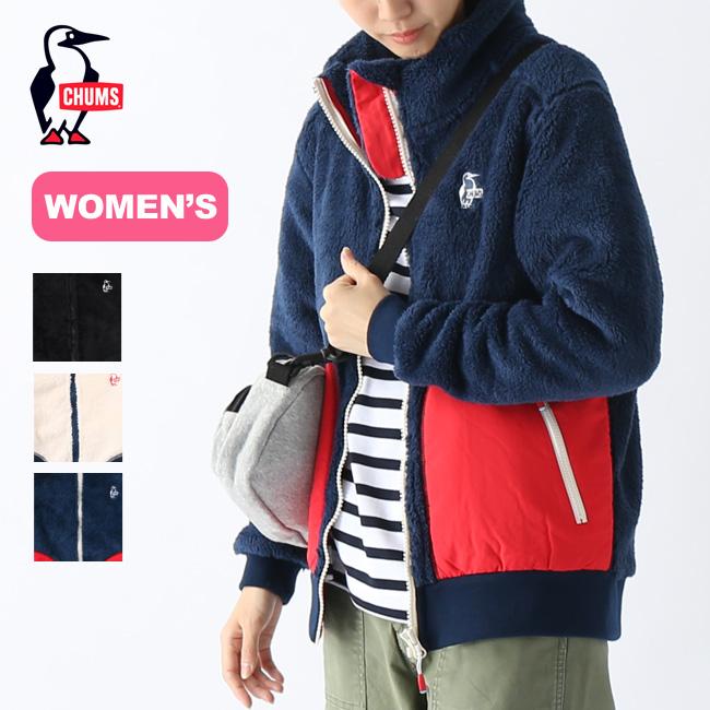 チャムス エルモフリースフルジップジャケット【ウィメンズ】CHUMS Elmo Fleece Full Zip Jacket レディース CH14-1165 トップス アウター フリース ジャケット アウトドア <2019 秋冬>