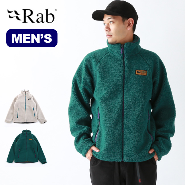 【キャッシュレス 5%還元対象】 ラブ オリジナルパイルジャケット Rab Original pile jacket QFC-24 アウターメンズ <2019 秋冬>