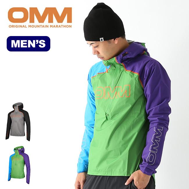 オリジナルマウンテンマラソン カムライトスモック OMM KAMLITE SMOCK メンズ OC127 シェルジャケット 防水ジャケット ハイブリッドシェル 防水 アウトドア <2019 秋冬>
