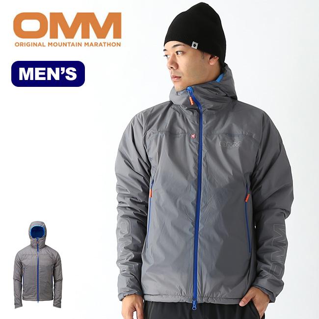 オリジナルマウンテンマラソン マウンテンバラージジャケット OMM BARRAGE JACKET メンズ ジャケット インサレーション インサレーションジャケット アウター ランニング トレラン アウトドア <2019 秋冬>