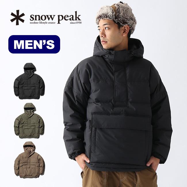 スノーピーク FR ダウンプルオーバー snow peak FR Down Pullover メンズ JK-19AU001 ウェア アウター ダウン パーカー プルオーバー 焚き火 難燃性 撥水 防風 ウインドシェル <2019 秋冬>