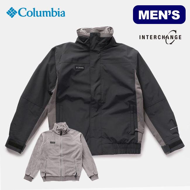 コロンビア バガブー1986インターチェンジジャケット Columbia Bugaboo 1986 Interchange Jacket メンズ WE1190 上着 アウター ブルゾン インナージャケット 2way フリースジャケット アウトドア <2019 秋冬>