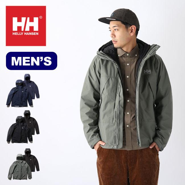 ヘリーハンセン スカンザ3WAYジャケット HELLY HANSEN Scandza 3WAY Jacket メンズ HOE11877 アウター コート トップス ジャケット <2019 秋冬>