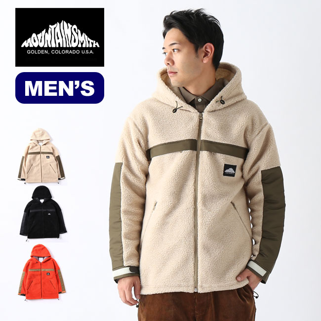 マウンテンスミス ボアフリースジップジャケット Mountainsmith Bore fleece zip jacket MS0-000-190105 アウター ジャケット メンズ アウトドア <2019 秋冬>