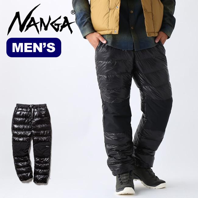 ナンガ ポータブルダウンパンツ NANGA PORTABLE DOWN PANTS ダウンパンツ パンツ メンズ アウトドア <2019 秋冬>