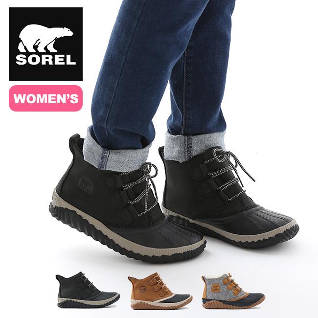 ソレル アウトアンドアバウトプラス【ウィメンズ】 SOREL Out'nAboutPlus 靴 ブーツ ショート ブーツ ハイカット レディース アウトドア <2020 秋冬>