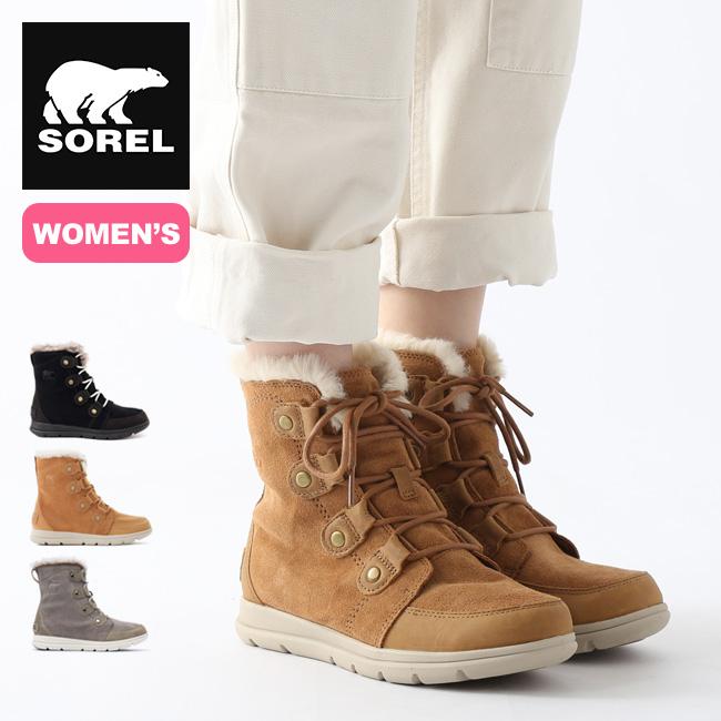 ソレル ソレルエクスプローラージョアン【ウィメンズ】 SOREL Sorel Explorer Joan NL3039 レディース ブーツ スノーブーツ アウトドア <2019 秋冬>