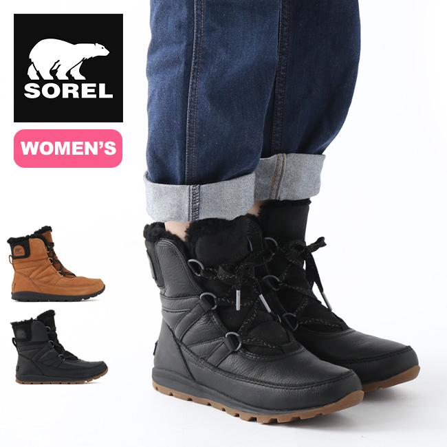 ソレル ウィットニーショートレースプレミアム【ウィメンズ】 SOREL Whitney Short Lace Premium ブーツ スノーブーツ レディース アウトドア <2019 秋冬>