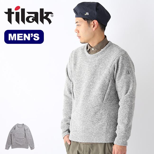 ティラック セージウーリースウェットシャツ tilak SAGE Wooly Sweatshirts メンズ スウェット スウェットシャツ トップス <2019 秋冬>