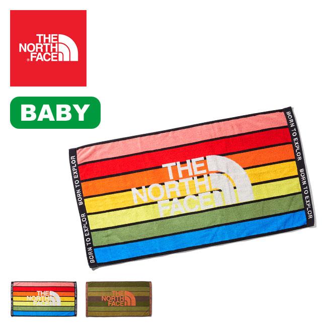 ノースフェイス マウンテンレインボータオルL THE NORTH FACE Mt.Rainbow Towel L ベビー NNB01907 タオル バスタオル 赤ちゃん キッズ 子供 <2020 春夏>