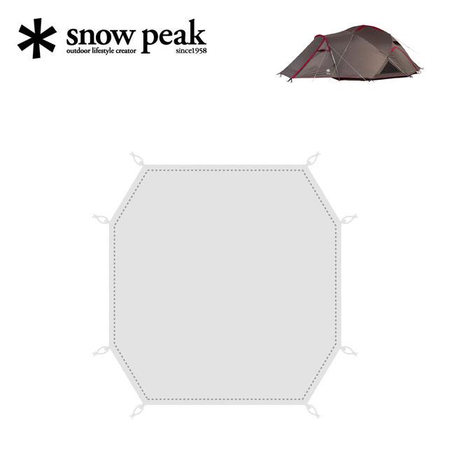 スノーピーク ランドブリーズPro.4 グランドシート snow peak SD-644-1 テント ドーム キャンプ シート インナーマット <2020 春夏>