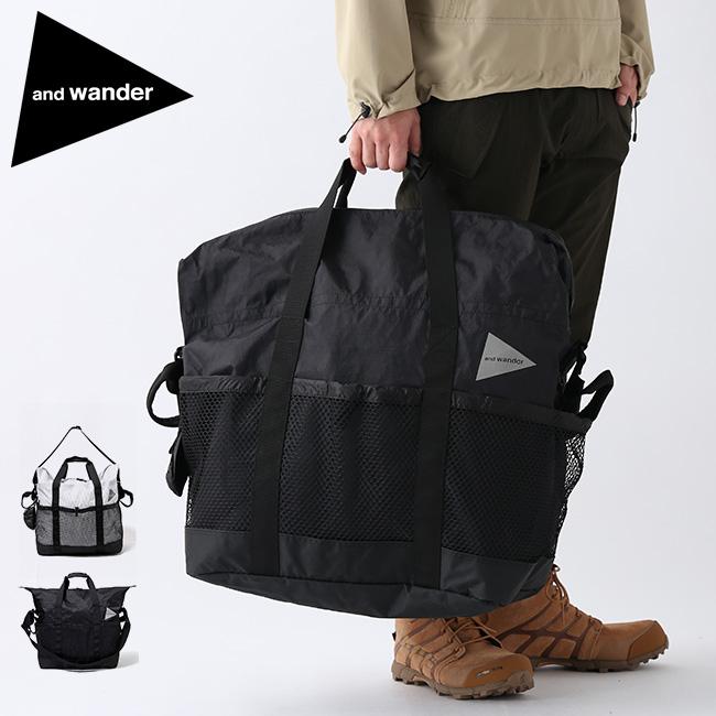 アンドワンダー Xパック 45L トートバッグ and wander X-Pac 45L tote bag 5740975010 鞄 かばん 手提げバッグ 旅行 <2020 春夏>