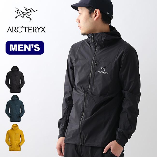 アークテリクス スコーミッシュフーディ ARCTERYX Squamish Hoody メンズ ジャケット アウター シェルジャケット ウィンドシェル アウトドア <2020 春夏>