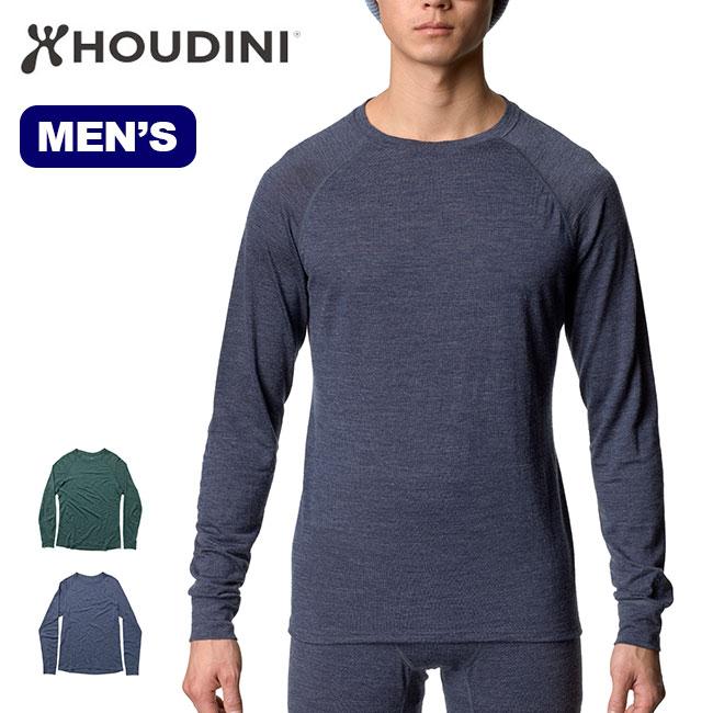 フーディニ メンズ アクティビストクルー HOUDINI Activist Crew 257054 長袖 Tシャツ ベースレイヤー インナー アウトドア sp19fw