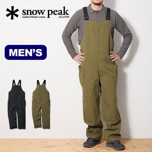 スノーピーク タキビオーバーオール snow peak TAKIBI Overalls メンズ AL-20SU101 オーバーオール つなぎ サロペット サロペ アウトドア <2020 春夏>