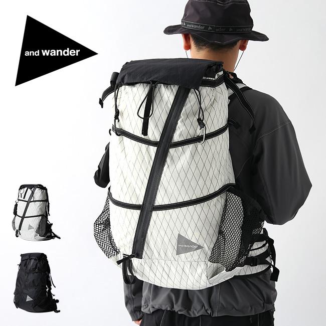 アンドワンダー Xパック 40L バックパック and wander X-Pac 40L backpack 5740975007 バックパック リュック ザック リュックサック アウトドア <2020 春夏>