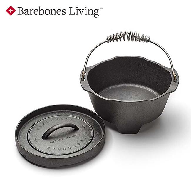 ベアボーンズリビング ダッチ 10インチ Barebones Living Dutch 10inch 鉄製 フライパン ダッチオーブン キャンプ 料理 <2020 春夏>