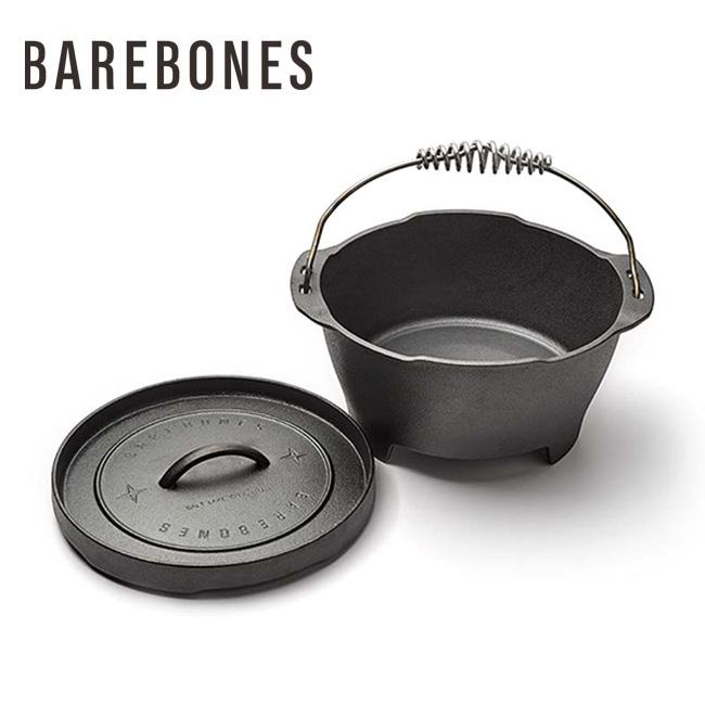 キャストアイアン・ダッチオーブン 12インチ/ベアボーンズリビング(Barebones Living)