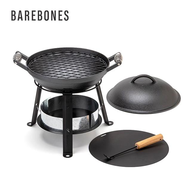 ベアボーンズリビング アウトドア アイアンオーブン Barebones Living Outdoor Iron Oven アイアン 鉄製 フライパン ダッチオーブン キャンプ 料理 炭台 焼き網 鉄板 風防 スキレット <2020 春夏>