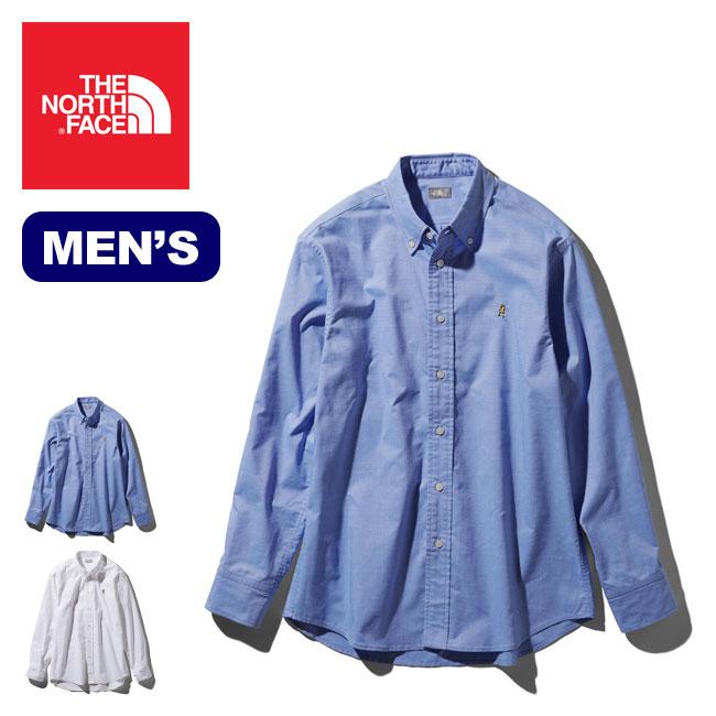 【SALE】【30%OFF】ノースフェイス L/S ヒムリッジシャツ THE NORTH FACE L/S Him Ridge Shirt メンズ NR11955 トップス シャツ オックスフォードシャツ ロングスリーブ 長袖 アウトドア <2020 春夏>