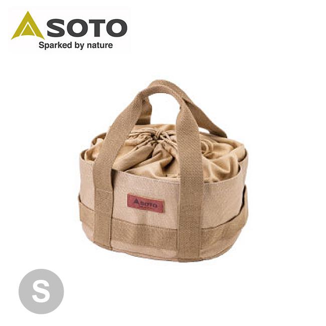 春夏 ソト 帆布フリーバッグ S SOTO ST-6401S 国内送料無料 ダッチオーブンアウトドア 収納 売却 キャンプ用品 正規品 トートバッグ