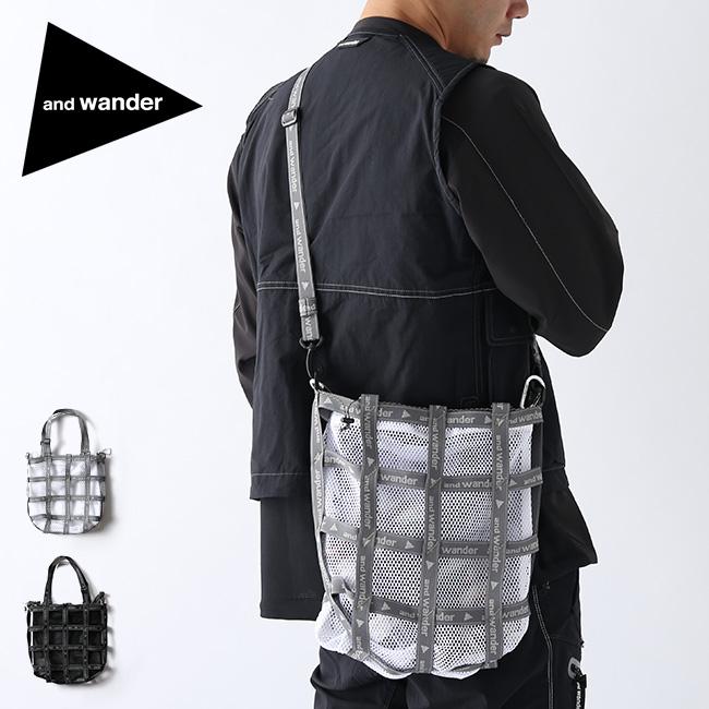 アンドワンダー JQテープバッグ and wander JQ tape bag 5740985001 バッグ ショルダーバッグ トートバッグ トート 鞄 アウトドア <2020 春夏>