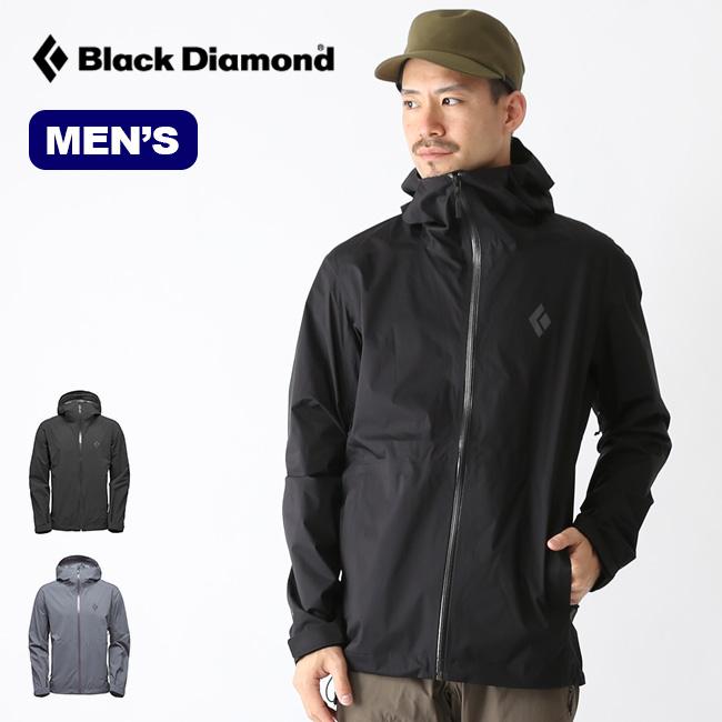 ブラックダイヤモンド ストームラインストレッチレインシェル Black Diamond STORMLINE STRETCH RAIN SHELL メンズ BD65000 ジャケット レインジャケット シェルジャケット アウター アウトドア <2020 春夏>