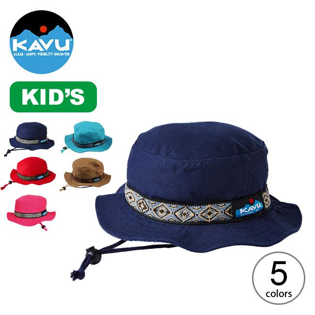 2021 新作 大人気 春夏 カブー キッズバケットハット KAVU オリジナル K's Bucket Hat キッズ キャンプ ハット 子供 アウトドア フェス 正規品 帽子 バケット 11864401