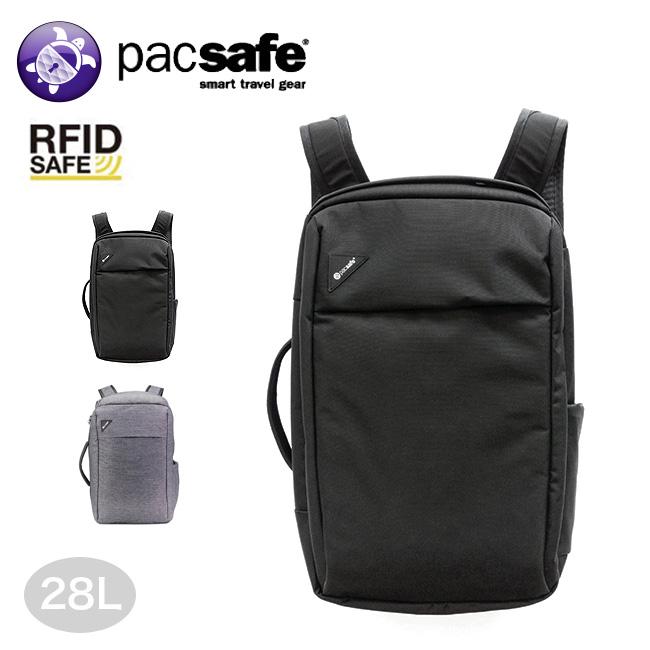 パックセーフ バイブ28コーデュラ Pacsafe Vibe 28 CORDURA 12970238 バックパック リュック トラベルバッグ セキュリティ RFID 2Way タウンユース ビジネス<2020 春夏>
