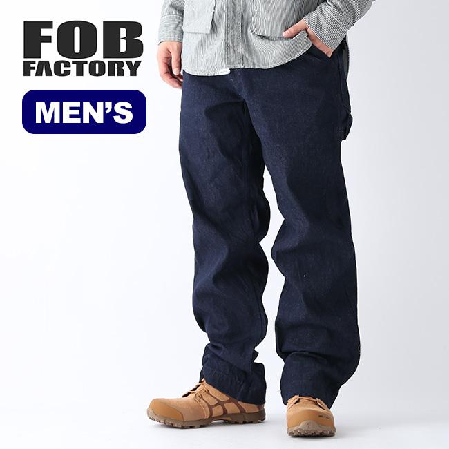 エフオービーファクトリー 888ペインターパンツ FOB FACTORY 888 PAINTER PANTS メンズ F0484 ボトムス デニム ジーンズ ロングパンツ 国産 <2020 春夏>
