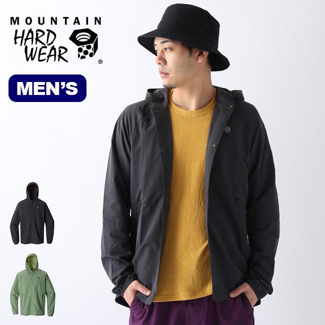 マウンテンハードウェア ライレイシャツ Mountain Hardwear Railay Shirt メンズ OM8173 フーディ シャツ アウター ウィンドシェル アウトドア <2020 春夏>