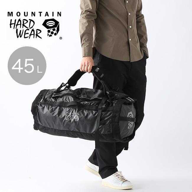 マウンテンハードウェア キャンプ4ダッフル45 Mountain Hardwear Camp 4 Duffel 45 OP8732 ダッフルバッグ ダッフル バックパック リュック パッカブル クライミング キャンプ アウトドア <2020 春夏>