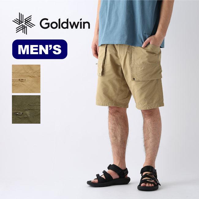 ゴールドウィン コーデュラマウントカーゴチノショーツ GOLDWIN CORDURA(R) Mount Cargo Chino Shorts メンズ GM70124P ボトムス ショートパンツ 半ズボン アウトドア <2020 春夏>