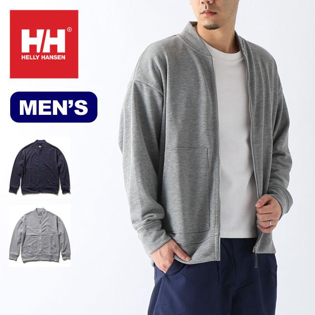 ヘリーハンセン スウェットジップブルゾン メンズ HELLY HANSEN Sweat Zip Blouson メンズ HOE32010 トップス ジャケット ブルゾン アウター 部屋着 アウトドア <2020 春夏>