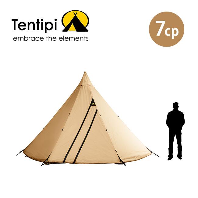 テンティピ オニキス7CP Tentipi Tentipi Onyx 7CP テント ティピー 大型テント 焚き火 宿泊 6~8人 キャンプ アウトドア【正規品】