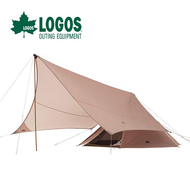 ロゴス Trad ティピータープ350-BJ LOGOS 71805559 テント タープ セット ワンポールテント ヘキサ型 ファミリーキャンプ グループキャンプ アウトドア <2020 春夏>