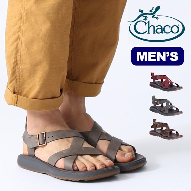 チャコ ウェイヘラー Chaco WAYFARER メンズ サンダル スポーツサンダル レザー 靴 アウトドア <2020 春夏>
