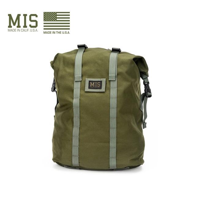 エムアイエス ロールアップバックパック MIS ROLL UP BACKPACK MIS-1009 バッグ 鞄 リュック リュックサック アウトドア <2020 春夏>