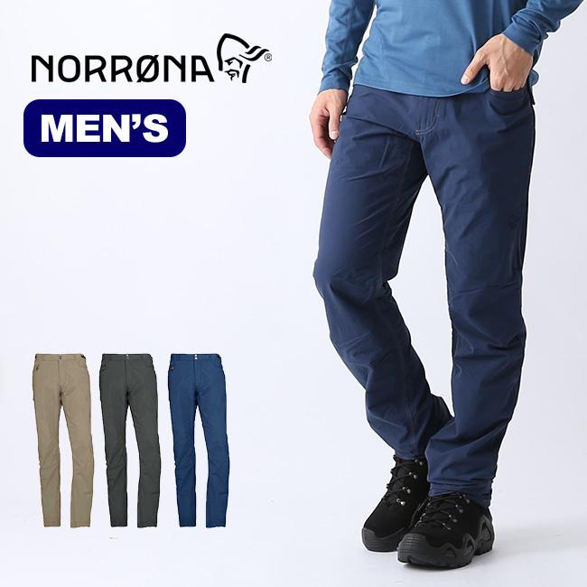 ノローナ スヴァルバール ライトコットンパンツ メンズ Norrona svalbard light cotton Pants 2421-19 パンツ ボトムス ロングパンツ テーパード アウトドア <2020 春夏>
