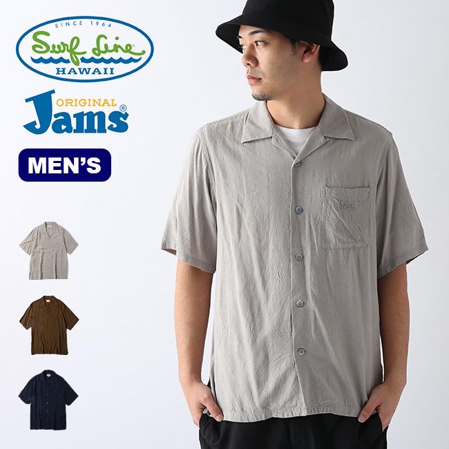 オリジナルジャムズ JMS-M01 S/Sシャツ メンズ ORIGINALJams Surf Line HAWAII JMS-M01 シャツ カラーシャツ カジュアルシャツ トップス <2020 春夏>