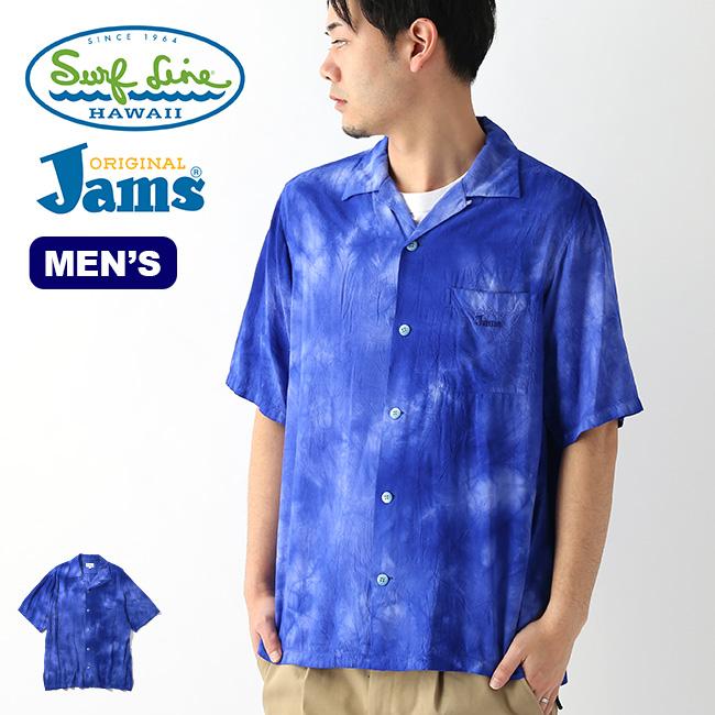 オリジナルジャムズ JMS-M03 S/Sシャツ メンズ ORIGINALJams Surf Line HAWAII JMS-M03 シャツ カラーシャツ カジュアルシャツ トップス アウトドア <2020 春夏>