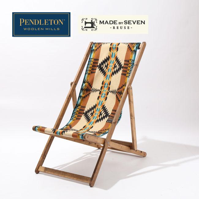 ペンドルトン フォールディングラウンジチェア PENDLETON PENDLETON FOLDING LOUNGE CHAIR MS110 椅子 チェア メイドオブセブン アウトドア <2020 春夏>