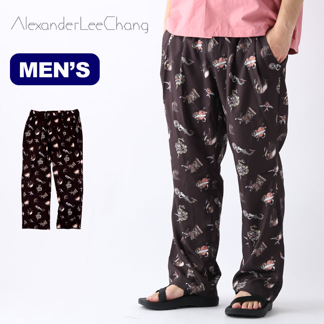 アレキサンダーリーチャン AFイージーパンツ AlexaderLeeChang AF EASY PANTS メンズ AC042002 ボトムス パンツ ロングパンツ 長ズボン アウトドア <2020 春夏>