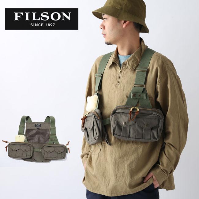 フィルソン メッシュフライフィッシングストラップベスト FILSON Mesh Fly Fishing Strap Vest 8040-45-70501 メンズ ベスト キャンプ アウトドア <2020 春夏>