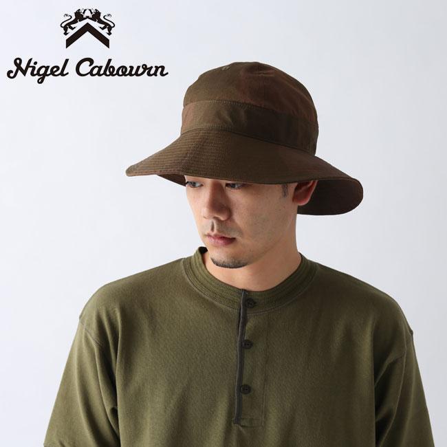 ナイジェルケーボン フィールドハット SAS カモ NIGEL CABOURN FIELD HAT S.A.S. CAMO 8040-00-66002 ハット帽子 <2020 春夏>