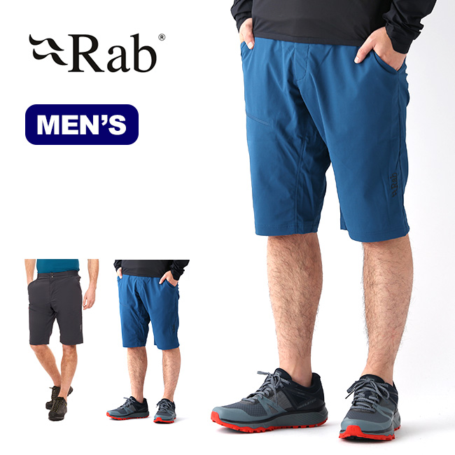 ラブ トルクライトショーツ Rab Torque Light Shorts メンズ QFU-36 ボトムス パンツ ハーフパンツ ショートパンツ 半ズボン クライミング <2020 春夏>