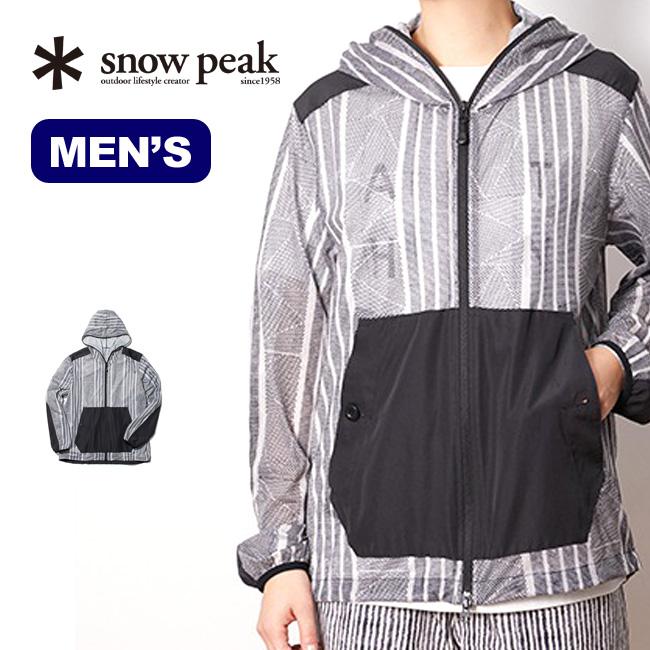 スノーピーク プリンテッドインセクトシールドパーカー snow peak Printed Insect Shield Parka メンズ JK-20SU116 トップス ジャケット アウター パーカー <2020 春夏>