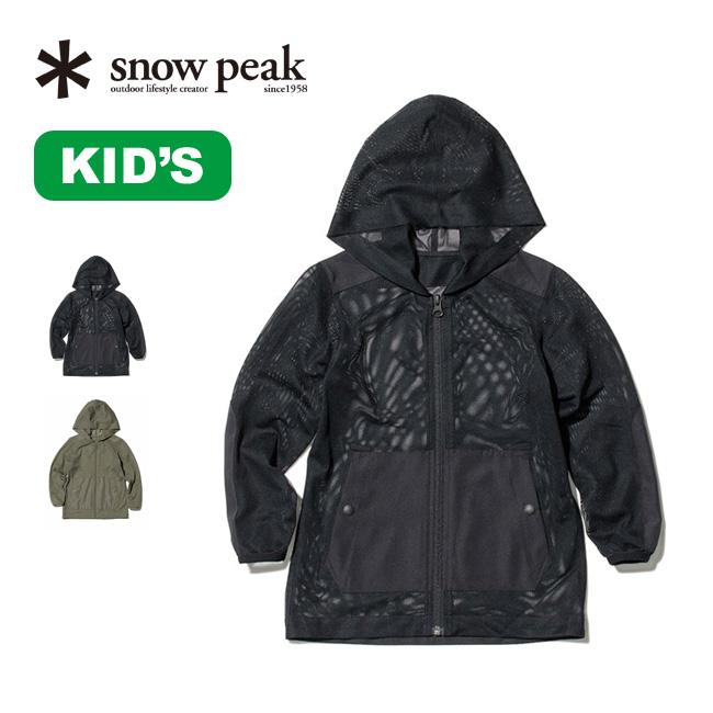 SP スノーピーク キッズ インセクトシールドパーカ snow peak 賜物 Kids Insect Shield アウター Parka トップス フェス 宅送 アウトドア キャンプ 正規品 JK-20SK101 パーカー