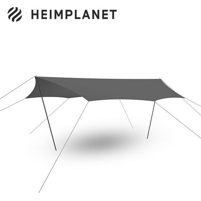 2021 春夏 宅送 ヘイムプラネット ダウンタープXL HEIMPLANET Dawn Tarp XL 正規品 40%OFFの激安セール テント HPT10073 タープ grey キャンプ アウトドア フェス
